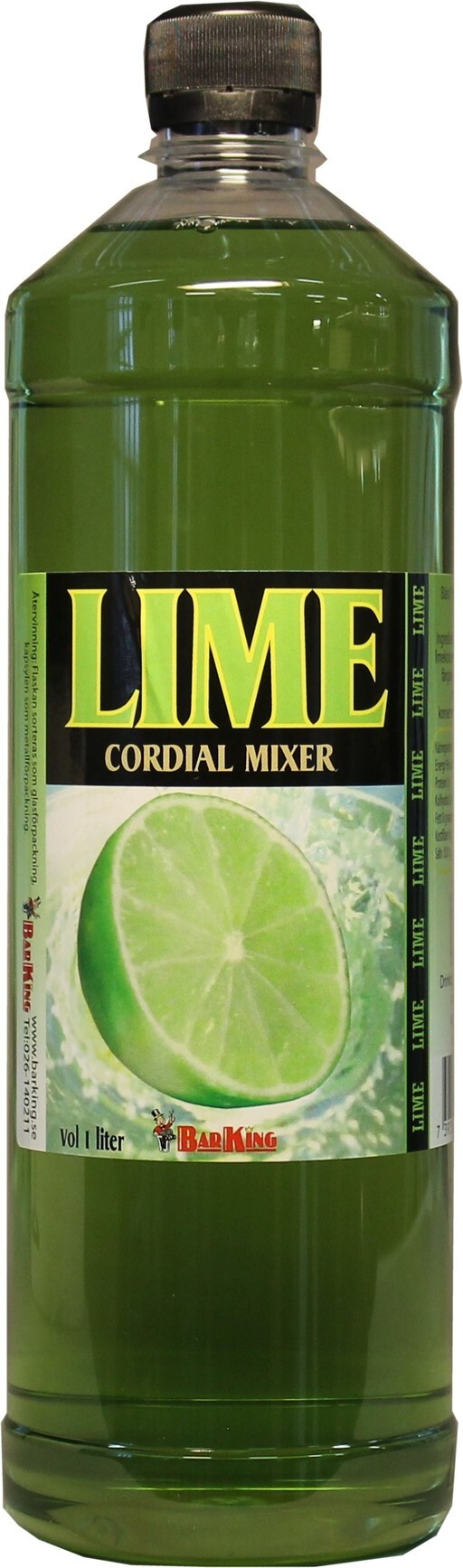 Lime Cordial 100cl